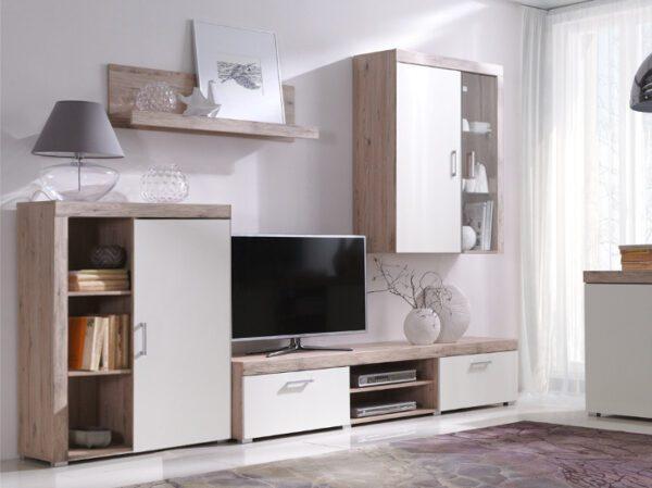 Systémový nábytek SAMBA sestava 1 san marino / krémový