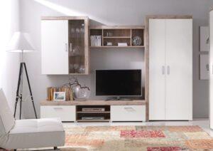 Moderní nábytek do obývacího pokoje SAMBA 2 san marino / krémový