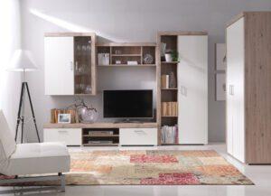 Moderní nábytek SAMBA sestava 4 san marino / krémový