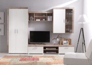 Systémový nábytek SAMBA sestava 7 san marino / krémový