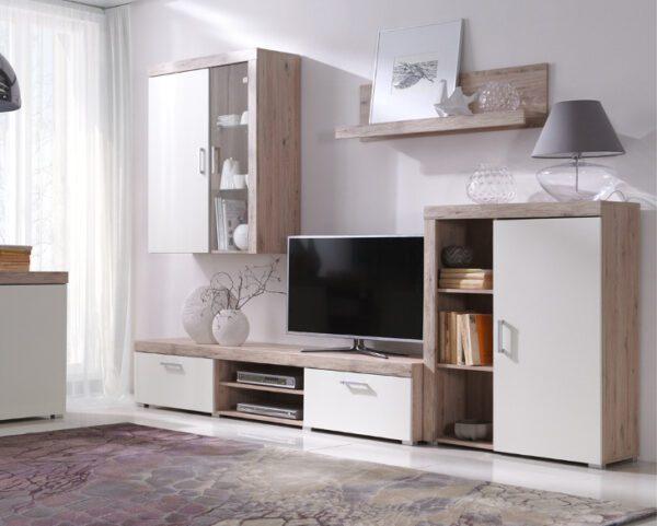 Elegantní nábytek do obýváku SAMBA sestava 8 san marino / krémový