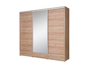 Šatní skříň HAJFA 255 se zrcadlem
