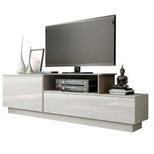 TV stolek SIGMA 3B bílý / dub sonoma