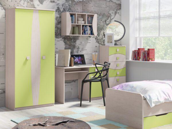 Nábytek do dětského / studentského pokoje TENUS 6