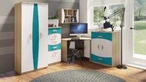 Stylový nábytek pro studenty TENUS II Sestava 10