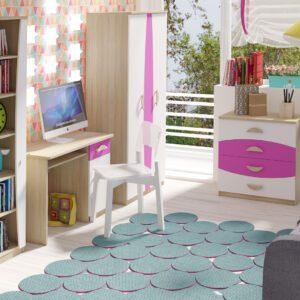 Trendy nábytek do dětského pokoje TENUS II Sestava 2