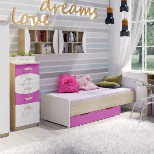 Stylový nábytek do dětského pokoje TENUS II Sestava 7