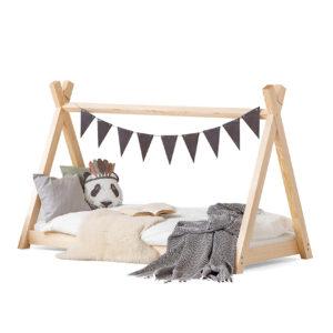 Dřevěná postel TIPI
