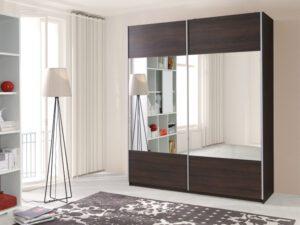 Luxusní šatní skříň VARIO se zrcadlem