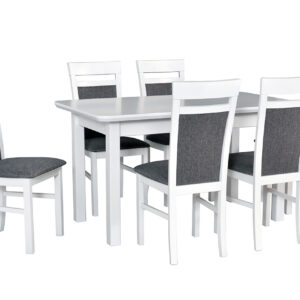 Stůl WENUS 2S + Židle MILANO 6 (6ks.) DX33