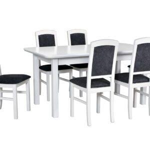 Stůl WENUS 2S + Židle NILO 4 (6ks.) DX24