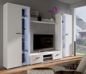 Obývací stěny RUMBA / RODOS XL Bílý