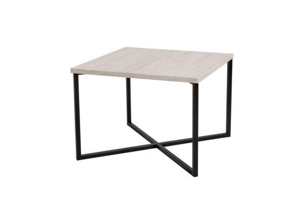 Konferenční stolek PRATO Bílý Dub / Černý