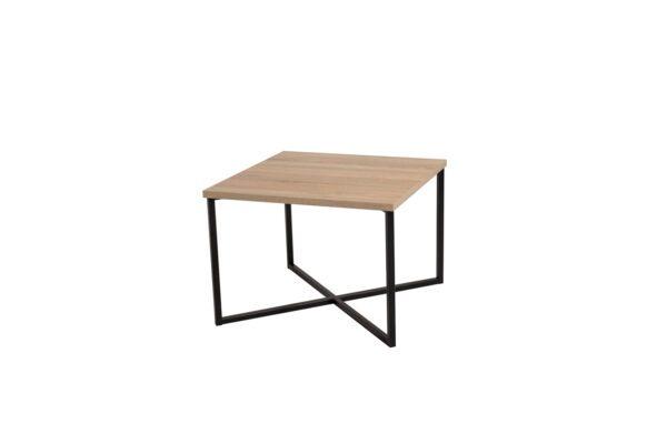 Konferenční stolek PRATO Sonoma / Černý