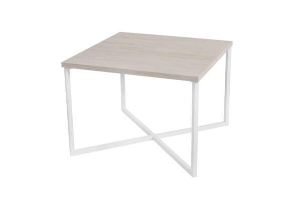Konferenční stolek PRATO Bílý Dub / Bílý