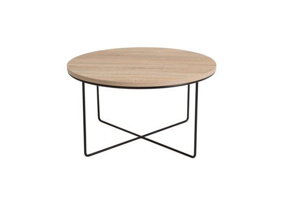 Konferenční stolek BARI Sonoma / Černý