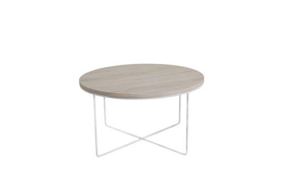 Konferenční stolek BARI Bílý Dub / Bílý