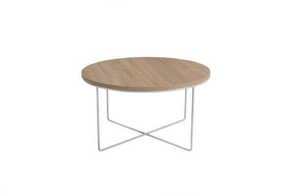 Konferenční stolek BARI Sonoma / Bílý