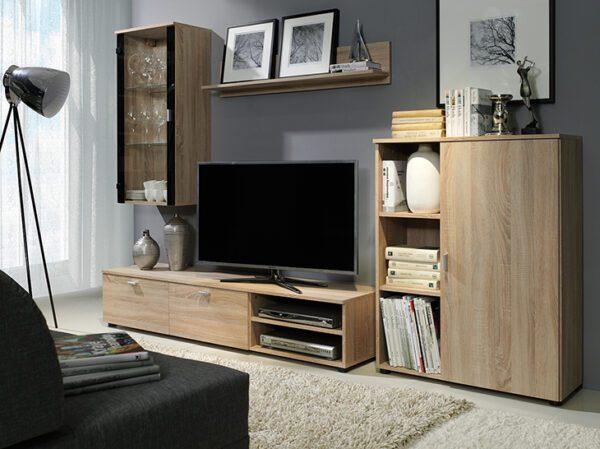 Nábytek do obývacího pokoje DINO 1 Sonoma / Sonoma