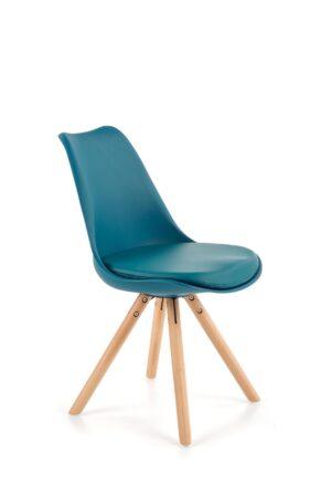 Jídelní židle K201 tyrkysová