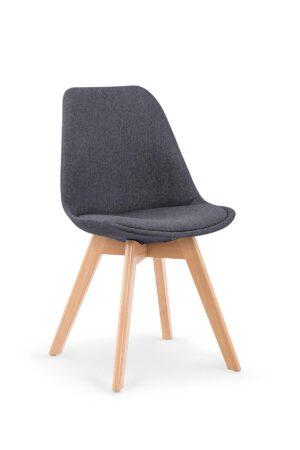 Židle K303 tmavě šedá